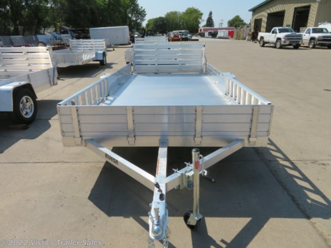 "New 2019 Aluma 8114SR 81""X14' Utility Trailer For Sale by Visto's Trailer Sales available in West Fargo, North Dakota"