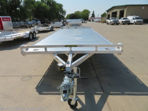 New 2019 Aluma 102''X24' Aluminum Deckover Trailer For Sale by Visto's Trailer Sales available in West Fargo, North Dakota