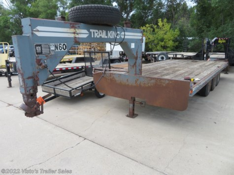 Used 1986 Trail King 8'X22' Gosseneck Deckover For Sale by Visto's Trailer Sales available in West Fargo, North Dakota