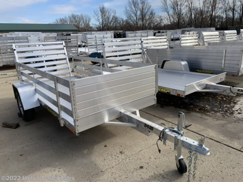 New 2019 Aluma 5410 54''X10' Utility Trailer For Sale by Visto's Trailer Sales available in West Fargo, North Dakota
