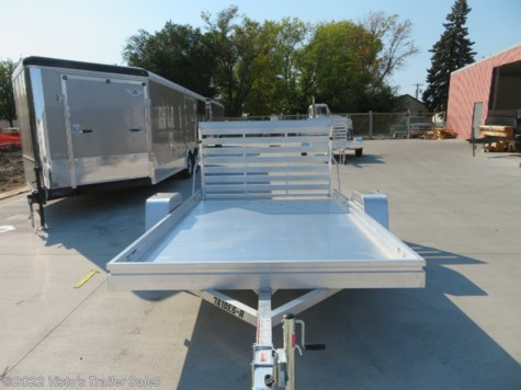 New 2019 Aluma 7810ES 78''X10 Utility Trailer For Sale by Visto's Trailer Sales available in West Fargo, North Dakota