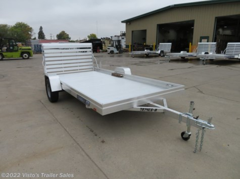 New 2019 Aluma 7814ES 78''X14' Utility Trailer For Sale by Visto's Trailer Sales available in West Fargo, North Dakota