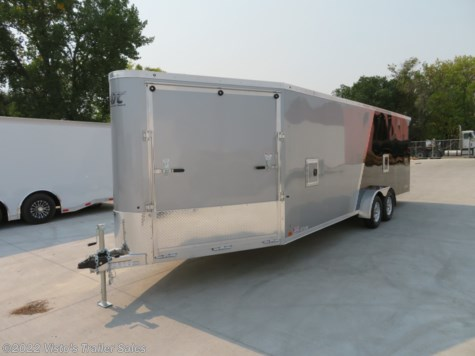 New 2019 ATC 7'X22'+6' Enclosed Snowmobile Trailer For Sale by Visto's Trailer Sales available in West Fargo, North Dakota