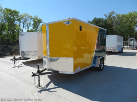New 2019 MTI 6'X12' Enclosed Trailer For Sale by Visto's Trailer Sales available in West Fargo, North Dakota