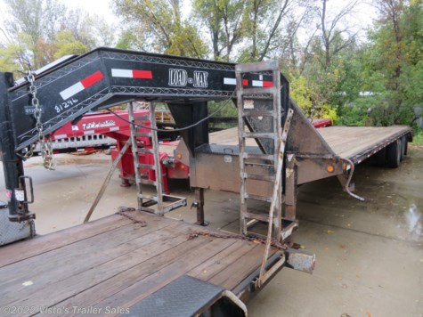 Used 2008 Load Trail 102''X32' Gooseneck Deckover For Sale by Visto's Trailer Sales available in West Fargo, North Dakota