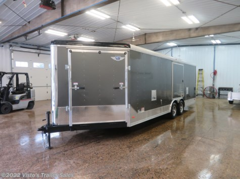 New 2019 MTI 8.5X27 Enclosed Snowmobile Trailer For Sale by Visto's Trailer Sales available in West Fargo, North Dakota