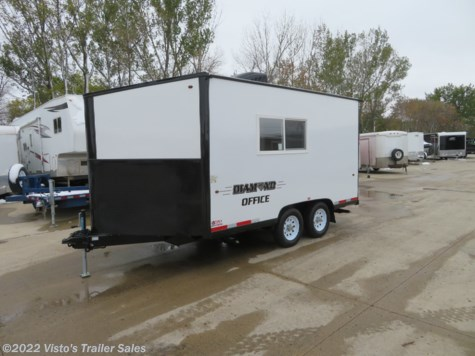 New 2018 Miscellaneous 8.5x18 Enclosed Office Trailer For Sale by Visto's Trailer Sales available in West Fargo, North Dakota