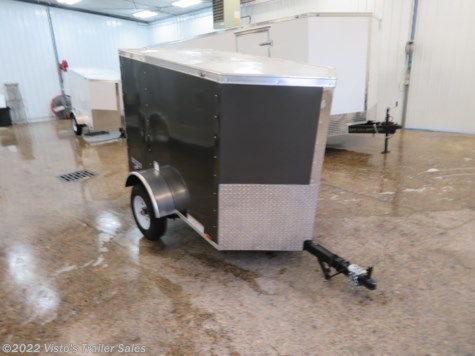 New 2019 Continental Cargo V-Series 4'X6' Enclosed Trailer For Sale by Visto's Trailer Sales available in West Fargo, North Dakota