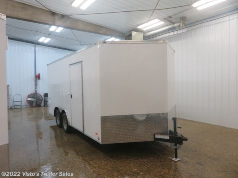 New 2019 Bravo Scout 8.5X16 Enclosed Trailer For Sale by Visto's Trailer Sales available in West Fargo, North Dakota