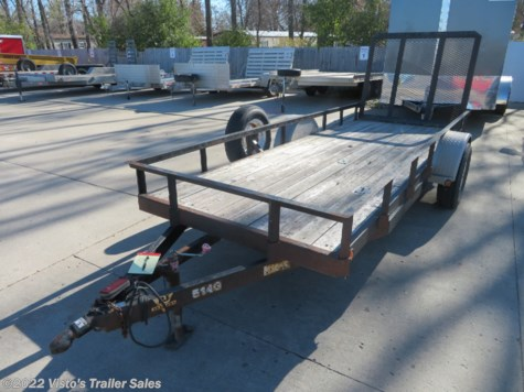 Used 2003 PJ Trailers 60''X14' Utility Trailer For Sale by Visto's Trailer Sales available in West Fargo, North Dakota