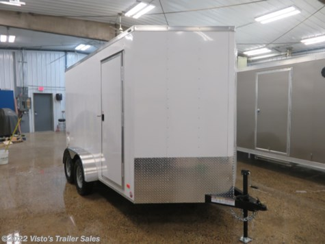 New 2019 Bravo Scout 7'X12' Enclosed Trailer For Sale by Visto's Trailer Sales available in West Fargo, North Dakota
