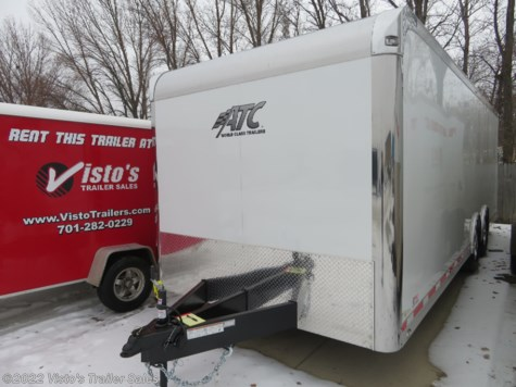 New 2019 ATC Quest 8.5'X24' Enclosed Trailer For Sale by Visto's Trailer Sales available in West Fargo, North Dakota