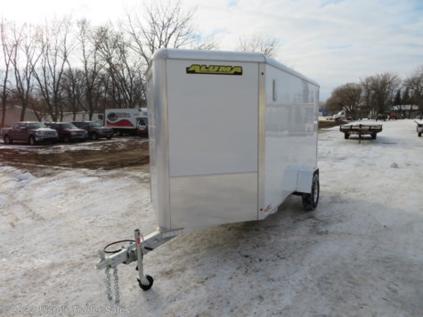 New 2019 Aluma AE612 6'X12' Enclosed Trailer For Sale by Visto's Trailer Sales available in West Fargo, North Dakota