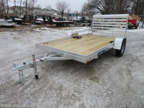 "New 2019 Aluma 7812ESW 78""X12' Utility Trailer For Sale by Visto's Trailer Sales available in West Fargo, North Dakota"