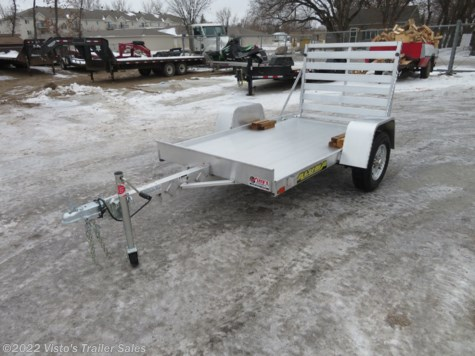 New 2019 Aluma 548 54''X8' Utility Trailer For Sale by Visto's Trailer Sales available in West Fargo, North Dakota