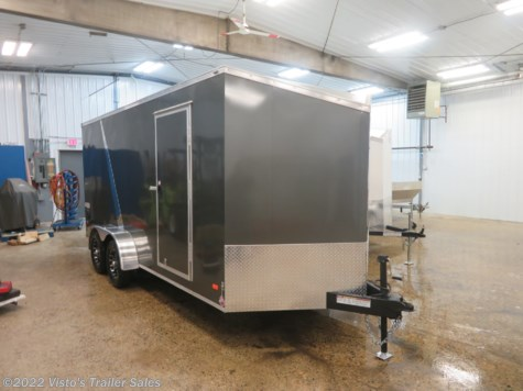 New 2019 Bravo Trailers Scout 7'X16' Enclosed Trailer For Sale by Visto's Trailer Sales available in West Fargo, North Dakota
