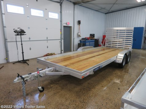 New 2019 Aluma 7820TAESW 78''X20' Utility Trailer For Sale by Visto's Trailer Sales available in West Fargo, North Dakota