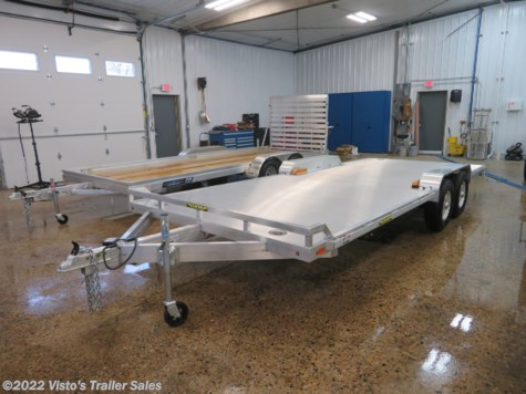 New 2020 Aluma 8220HWB 82''X20 Car Hauler For Sale by Visto's Trailer Sales available in West Fargo, North Dakota