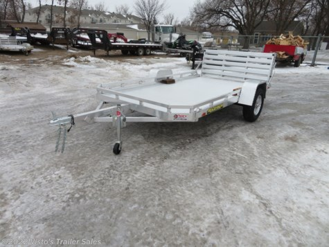 "New 2019 Aluma 7712HBT 77""X12' Utility Trailer For Sale by Visto's Trailer Sales available in West Fargo, North Dakota"