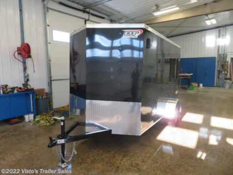New 2019 Bravo Scout 6'X10' Enclosed Trailer For Sale by Visto's Trailer Sales available in West Fargo, North Dakota