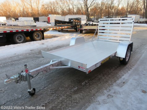 "New 2020 Aluma 6310 63''X10"" Utility Trailer For Sale by Visto's Trailer Sales available in West Fargo, North Dakota"