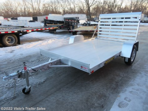 New 2020 Aluma 7210 72''X10' Utility Trailer For Sale by Visto's Trailer Sales available in West Fargo, North Dakota