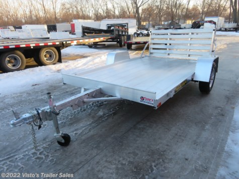 New 2019 Aluma 7210 72''X10' Utility Trailer For Sale by Visto's Trailer Sales available in West Fargo, North Dakota