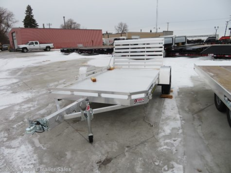 New 2020 Aluma 7712H 77''X12' Utility Trailer For Sale by Visto's Trailer Sales available in West Fargo, North Dakota