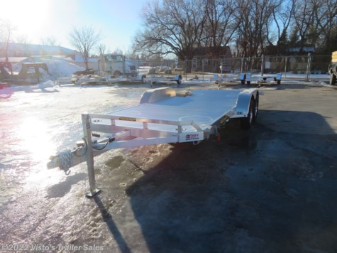 New 2019 Aluma 8218 Tilt 82'X18' Tilt Trailer For Sale by Visto's Trailer Sales available in West Fargo, North Dakota