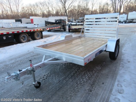 New 2020 Aluma 6810ESW 68''X10' Utility Trailer For Sale by Visto's Trailer Sales available in West Fargo, North Dakota