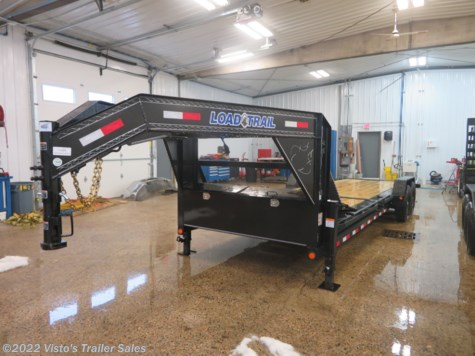 New 2019 Load Trail 83''x24' Gooseneck Tilt Trailer For Sale by Visto's Trailer Sales available in West Fargo, North Dakota