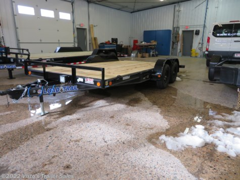New 2019 Load Trail 83''x16' Equipment Trailer For Sale by Visto's Trailer Sales available in West Fargo, North Dakota