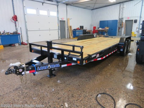 New 2019 Load Trail 83''x22' Equipment Trailer For Sale by Visto's Trailer Sales available in West Fargo, North Dakota