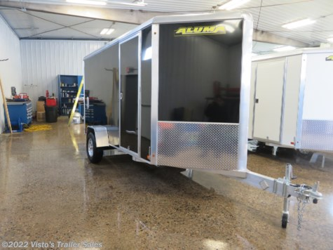 New 2020 Aluma 6'X12' Enclosed Trailer For Sale by Visto's Trailer Sales available in West Fargo, North Dakota