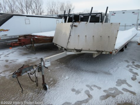 Used 2004 Bear Track 8.5'X20' Snowmobile Trailer For Sale by Visto's Trailer Sales available in West Fargo, North Dakota
