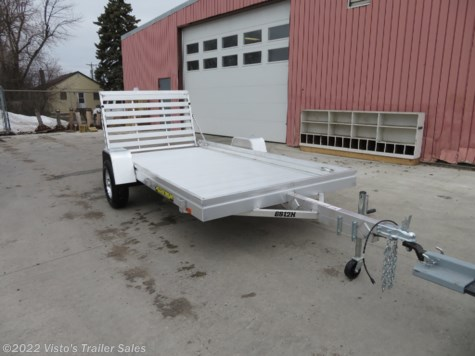 "New 2020 Aluma 6812H 68""x12' Utility Trailer For Sale by Visto's Trailer Sales available in West Fargo, North Dakota"