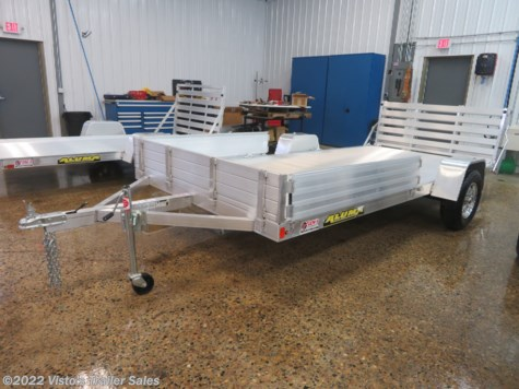 "New 2020 Aluma 81""x14' Utility Trailer For Sale by Visto's Trailer Sales available in West Fargo, North Dakota"