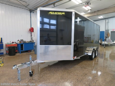 New 2020 Aluma AE612 6'x12' Enclosed Trailer For Sale by Visto's Trailer Sales available in West Fargo, North Dakota