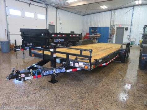 "New 2019 Load Trail Carhaulers and Bobcats 83""x22' Equipment Trailer For Sale by Visto's Trailer Sales available in West Fargo, North Dakota"