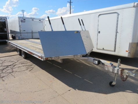 Used 2009 Bear Track 8.5'X20' Snowmobile Trailer For Sale by Visto's Trailer Sales available in West Fargo, North Dakota