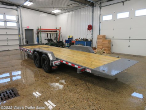 "New 2019 Midsota TB 82""x22' Tilt Deck Equipment Trailer For Sale by Visto's Trailer Sales available in West Fargo, North Dakota"