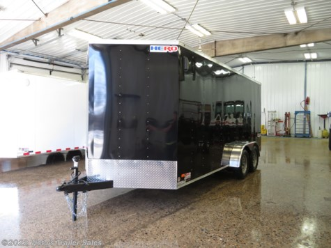 New 2020 Bravo Trailers Hero 7'X16' Enclosed For Sale by Visto's Trailer Sales available in West Fargo, North Dakota
