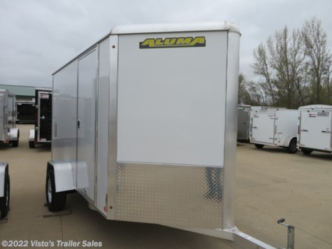 New 2020 Aluma AE610 6'X10' Enclosed Trailer For Sale by Visto's Trailer Sales available in West Fargo, North Dakota