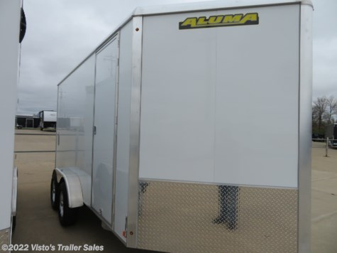 New 2020 Aluma 7'X14' Enclosed Trailer For Sale by Visto's Trailer Sales available in West Fargo, North Dakota