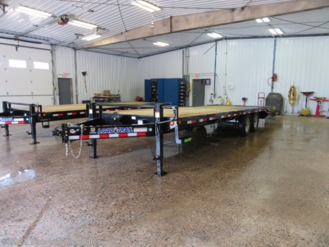 New 2019 Load Trail 102''X25' Deckover Trailer For Sale by Visto's Trailer Sales available in West Fargo, North Dakota