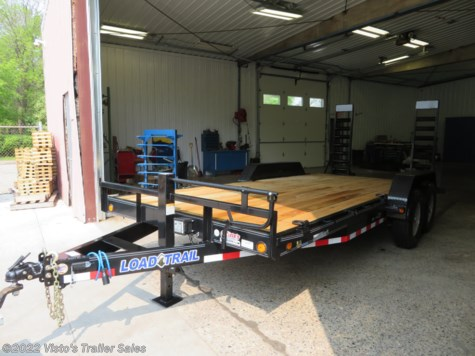"New 2019 Load Trail 83""X18' Equipment Trailer For Sale by Visto's Trailer Sales available in West Fargo, North Dakota"