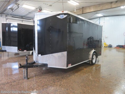 New 2019 MTI 7'X12' Enclosed Trailer For Sale by Visto's Trailer Sales available in West Fargo, North Dakota