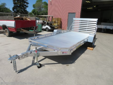 New 2020 Aluma 78''X14' Utility Trailer For Sale by Visto's Trailer Sales available in West Fargo, North Dakota