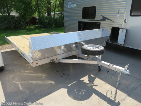 Used 2019 Aluma 12' Snowmobile Trailer For Sale by Visto's Trailer Sales available in West Fargo, North Dakota