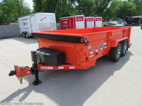New 2019 Midsota HV 82''X14' Dump Trailer For Sale by Visto's Trailer Sales available in West Fargo, North Dakota